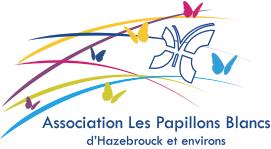 logo papillons blancs